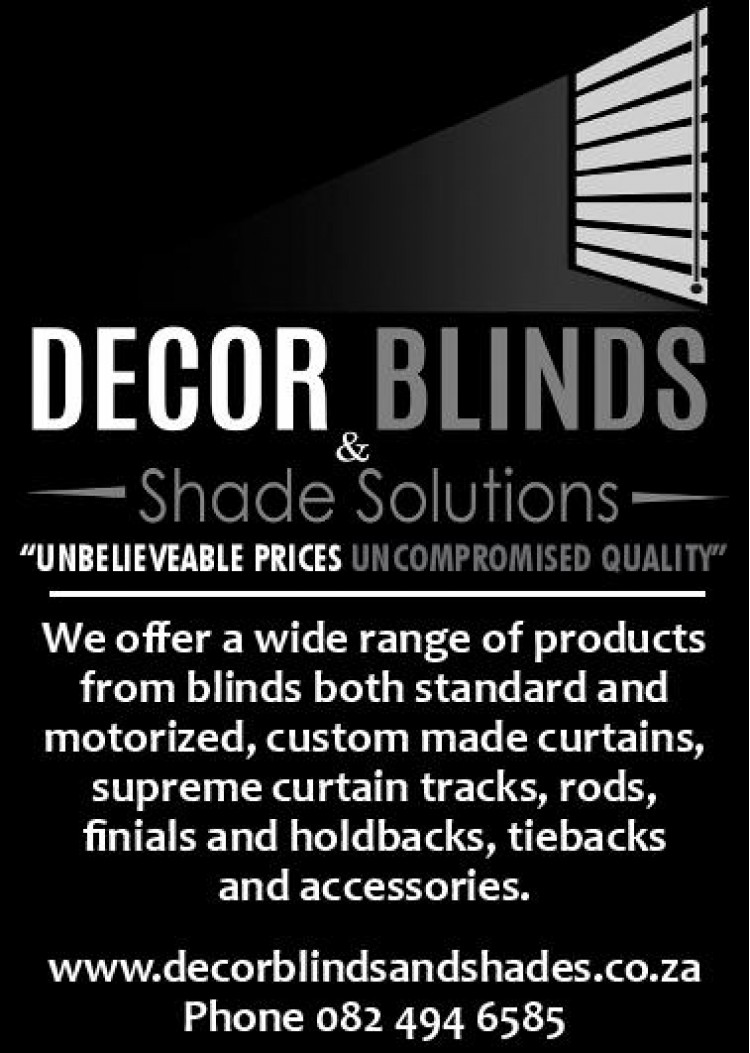 Decor Blinds and Shade Solutions - Specials